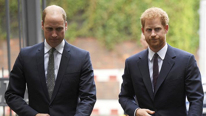 """William y Harry desmienten noticia sobre supuesta mala relación entre ellos: La calificaron como """"ofensiva"""""""