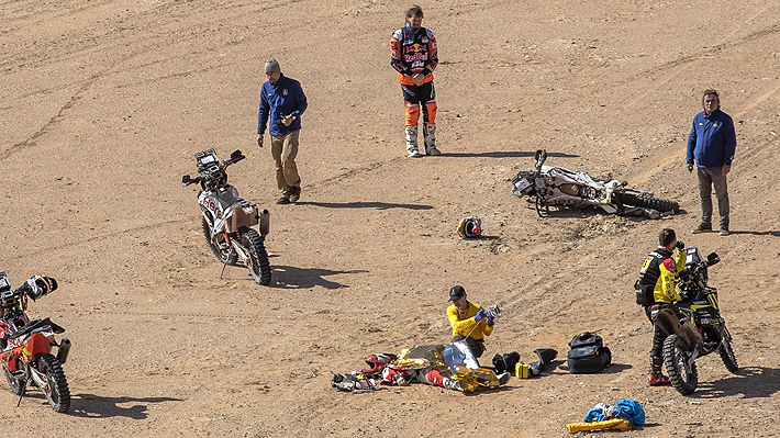 Piloto que socorrió al fallecido Paulo Goncalves rompe el silencio y relata cómo fue el dramático momento
