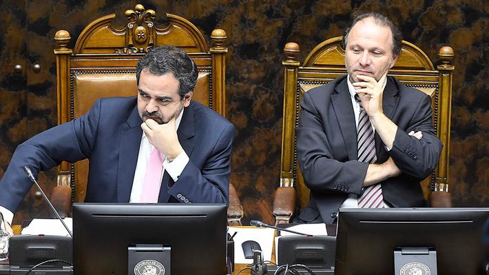 """Senadores de oposición se anticipan al Gobierno y presentan proyecto que """"garantiza el derecho a reunirse pacíficamente"""""""