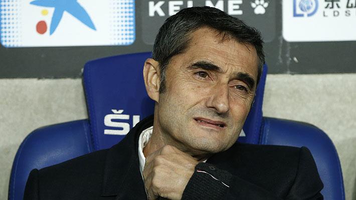 Medios españoles dan por hecho la salida de Ernesto Valverde del Barcelona y aseguran que ya tiene reemplazante