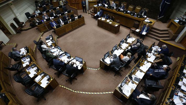 Senado aprueba ley antisaqueos y antibarricadas: Ahora el proyecto vuelve a la Cámara