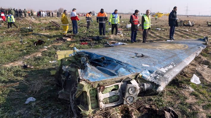 Irán efectúa varios arrestos relacionados con el derribo del avión ucraniano