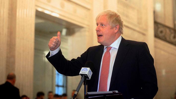 """""""Acuerdo Trump"""": Boris Johnson propone un nuevo trato para reemplazar el pacto nuclear con Irán"""