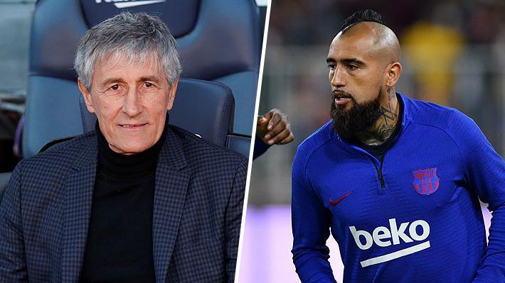 """En España aseguran que la """"primera decisión"""" que ya tomó el nuevo DT del Barcelona fue definir el futuro de Vidal en el club"""
