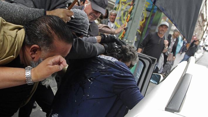 Reginato se retira en medio de incidentes luego de declarar por acusación sobre notable abandono de deberes