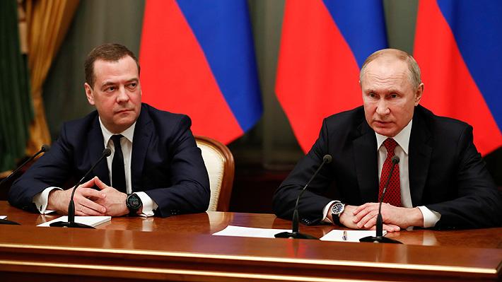 Sorpresa en Rusia: Primer ministro comunica su renuncia y la de todo el Gobierno tras discurso de Putin