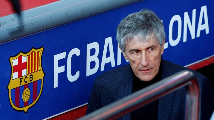 ¿Tendrá un lugar Arturo Vidal? Cómo jugaría el equipo de Quique Setién, el nuevo entrenador del Barcelona