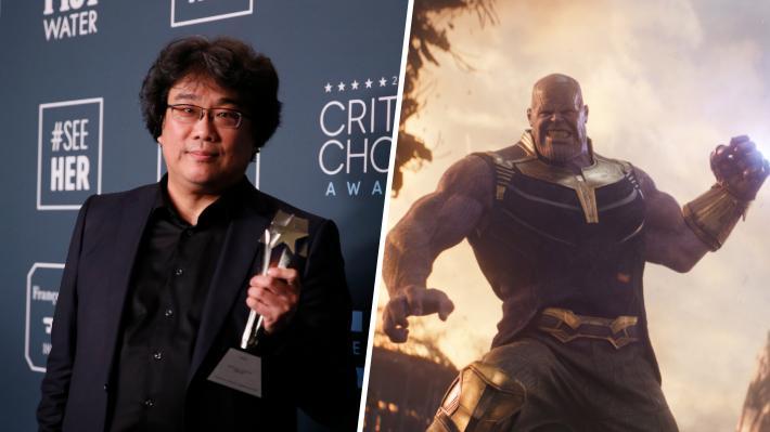 """Director de la halagada """"Parásitos"""" asegura que nunca trabajaría para Marvel: """"Creo que los superhéroes son un poco estúpidos"""""""