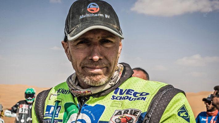 Otro golpe al Dakar: Piloto holandés se encuentra en estado crítico tras fuerte caída