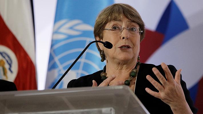 """Bachelet condena la """"violencia"""" diaria contra civiles en el noroeste de Siria a pesar del alto al fuego"""