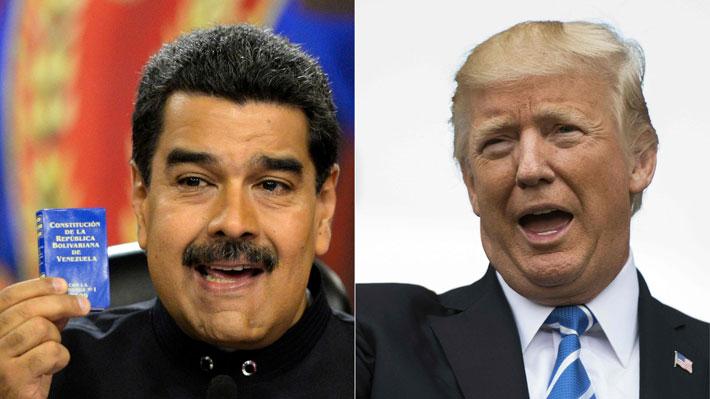Maduro dice que tiene el control de Venezuela y que está abierto a negociar con EE.UU.