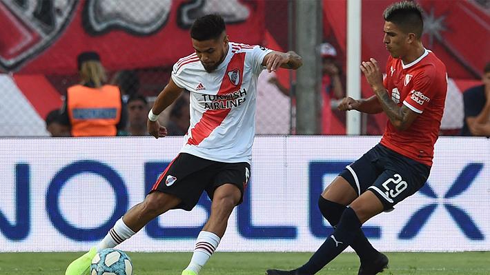 Video: El magnífico pase gol de Paulo Díaz en victoria de River sobre Independiente
