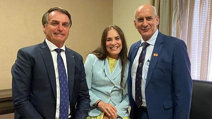 Bolsonaro convoca a popular actriz Regina Duarte para que sea su nueva secretaria de Cultura