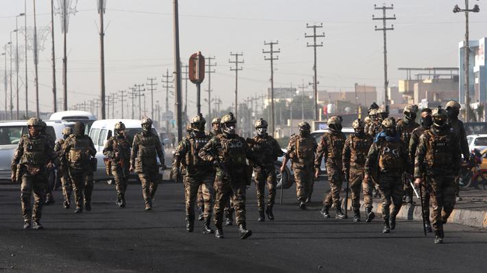 Irak abrirá una investigación tras el lanzamiento de cohetes a las cercanías de embajada de EE.UU. en Bagdad este martes