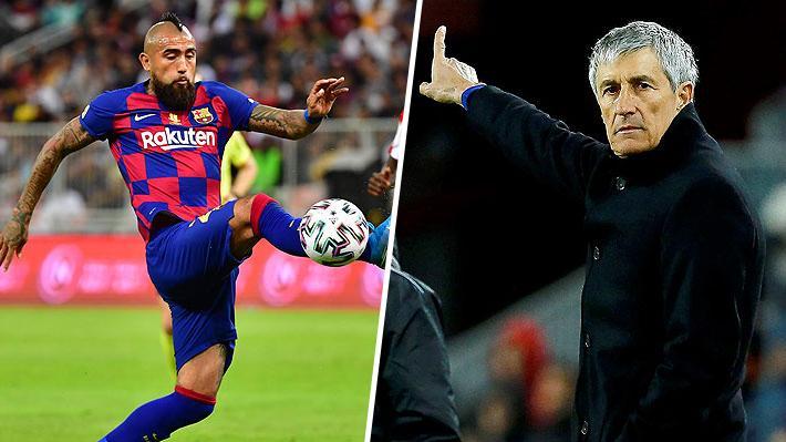 """Nuevo DT del Barcelona vuelve a referirse a Vidal: """"Es un chaval extraordinario, pero como la mayoría"""""""