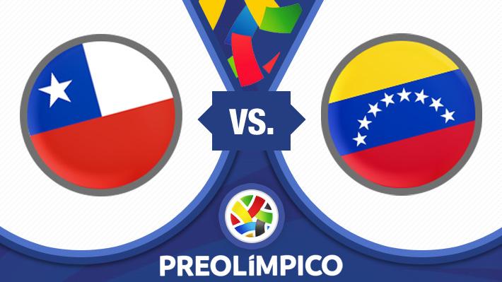 Así se forjó el sufrido triunfo de Chile ante Venezuela en el Preolímpico Sub 23