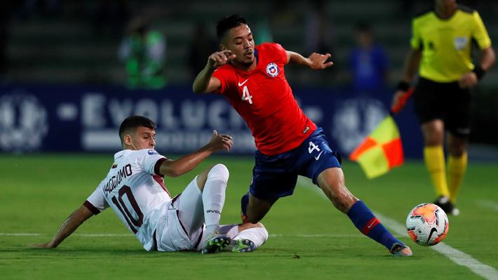 En un partidazo Chile vence con lo justo a Venezuela y se mantiene en la punta del Preolímpico a Tokio 2020