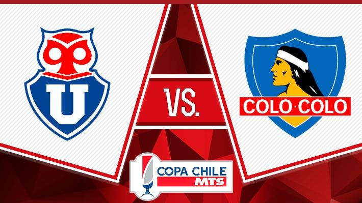 Repase la victoria de Colo Colo sobre la U en la Copa Chile