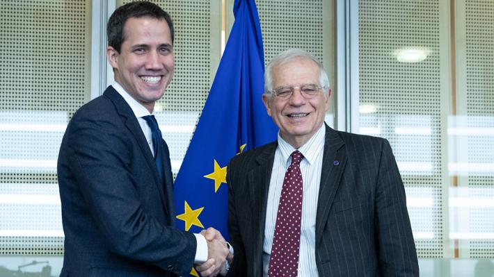 """Borrell y Guaidó se reunieron en Bruselas y acordaron un """"enfoque común"""" para un proceso político en Venezuela"""