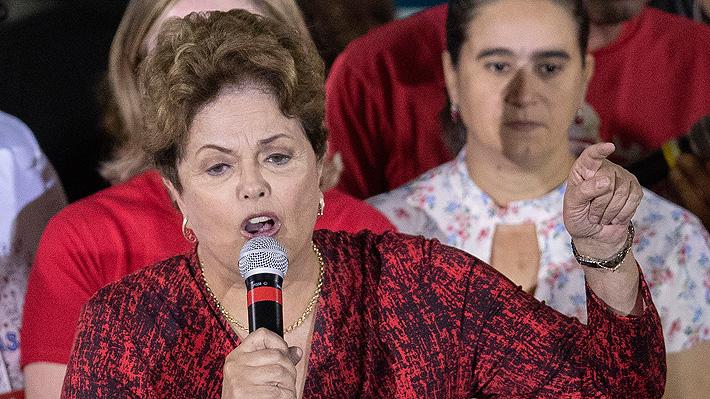 Dilma Rousseff no asistirá a foro internacional de DD.HH. que se celebrará en Santiago
