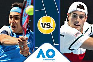 Repasa lo que fue la derrota de Tabilo frente a Isner en segunda ronda de Australia