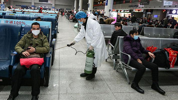 China confirma 571 casos de neumonía causada por el nuevo coronavirus