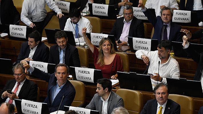 Las frases que marcaron la aprobación de la acusación constitucional contra intendente Felipe Guevara en la Cámara