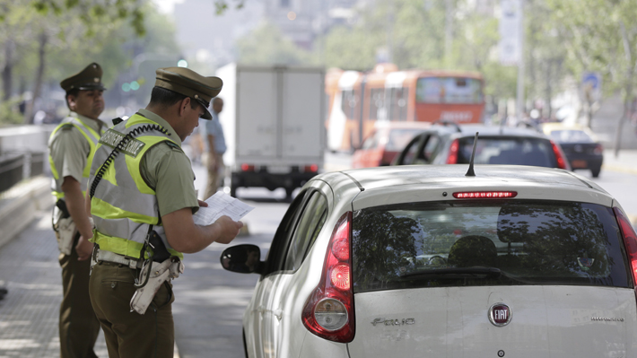Caída de infracciones de tránsito por menor fiscalización post 18-O impacta en ingresos de municipios