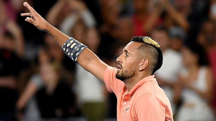 Kyrgios saca adelante el partido más largo de su carrera y se medirá ante Nadal en los octavos de Australia