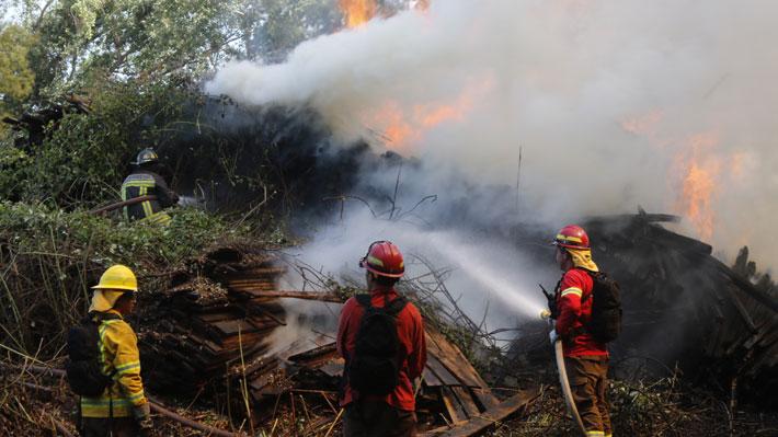 Onemi mantiene alerta roja en Chiguayante y la extiende también a las comunas de Santa Juana y Hualqui