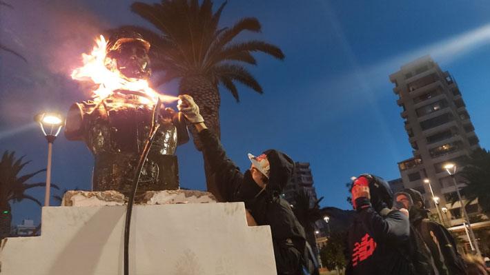 """Alcaldesa Karen Rojo pide ayuda ante hechos de violencia: """"En Antofagasta a todos se nos han violado los derechos humanos"""""""