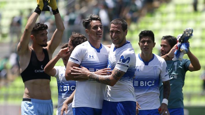 Católica goleó a Wanderers en un partido marcado por el excesivo protagonismo del VAR y el estreno goleador de sus refuerzos