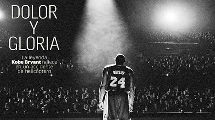 """""""Conmoción mundial"""", """"inmortal"""", """"adiós al genio""""... Así vio el mundo el fallecimiento de la leyenda Kobe Bryant"""