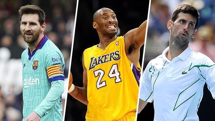 Messi, Cristiano, Nadal, Djokovic, Vidal, Magic Johnson... Más deportistas publican desgarradoras palabras por la muerte de Bryant