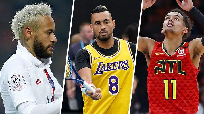 Neymar le dedicó un gol, Kyrgios utilizó su camiseta y en duelos de la NBA realizaron emotivos gestos... Los homenajes para Bryant