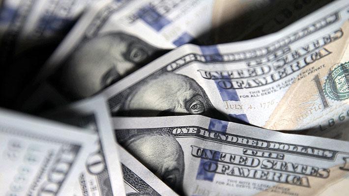 Dólar se dispara más de $13 en Chile y toca su mayor nivel en casi dos meses en medio de nerviosismo de los mercados