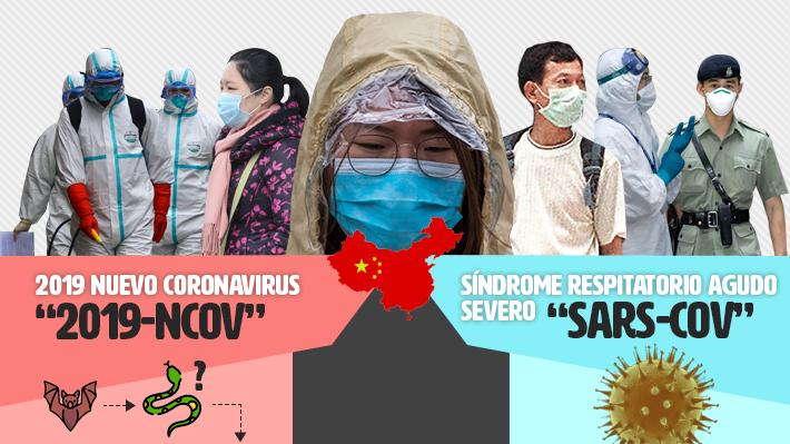 Qué tienen en común el SRAS y el coronavirus que actualmente se expande en el mundo
