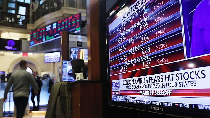 Mercados tambalean ante la expansión del coronavirus: ¿Cuáles son las principales repercusiones económicas en Chile?