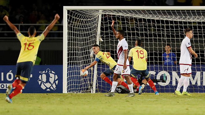 Colombia vence a Venezuela y Chile debe ganar sí o sí en la última fecha para avanzar en el Preolímpico