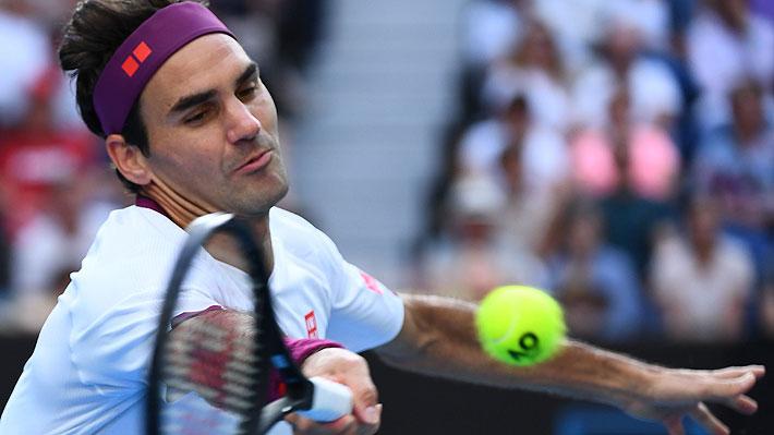 Mira los siete match points que salvó Federer para avanzar a semis de Australia y lo que dijo sobre una posible lesión
