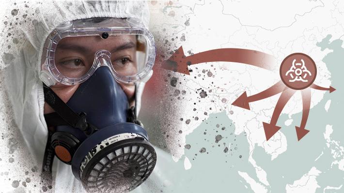 Cómo se ha expandido el coronavirus desde China y qué países acumulan casos