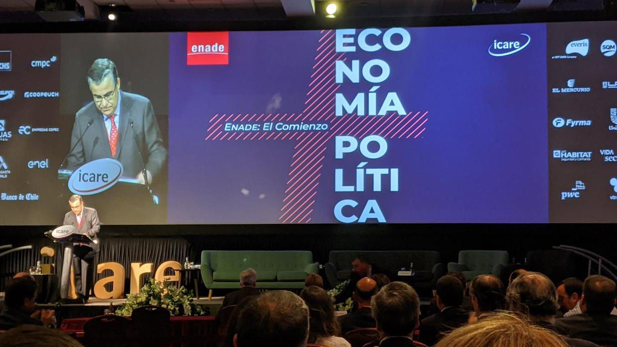 """Presidente de Icare en Enade 2020: """"Existe una generalizada preocupación por la extensión del itinerario constitucional"""""""