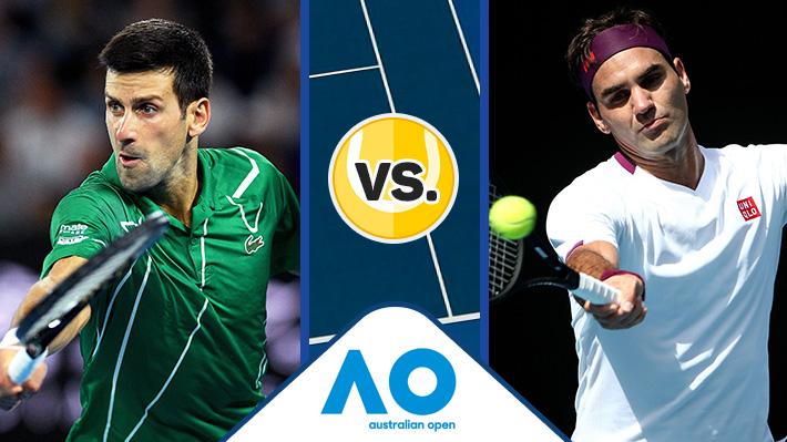 Revive el triunfo de Djokovic sobre Federer en las semis del Abierto de Australia