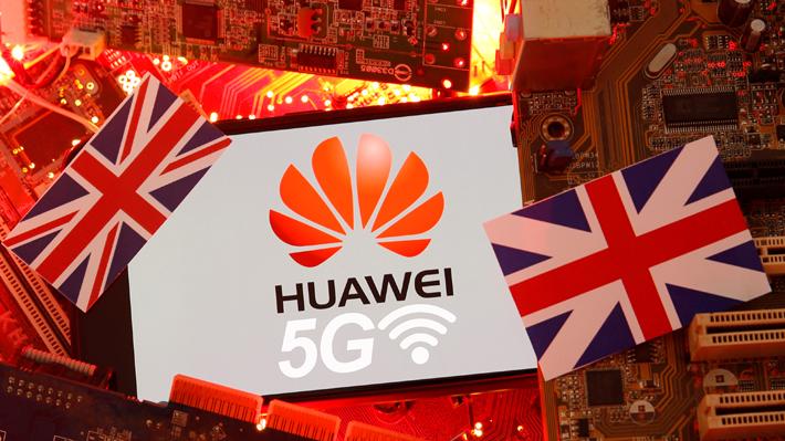 """Estados Unidos """"molesto"""" por incorporación de la red móvil 5G del gigante chino  Huawei por parte de Reino Unido"""