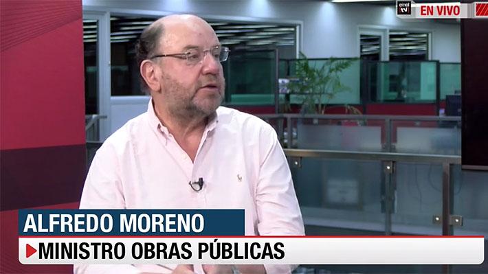 """Ministro Moreno y controversia por construcción de Puente Chacao: """"Soy un convencido de que Hyundai va a cumplir"""""""