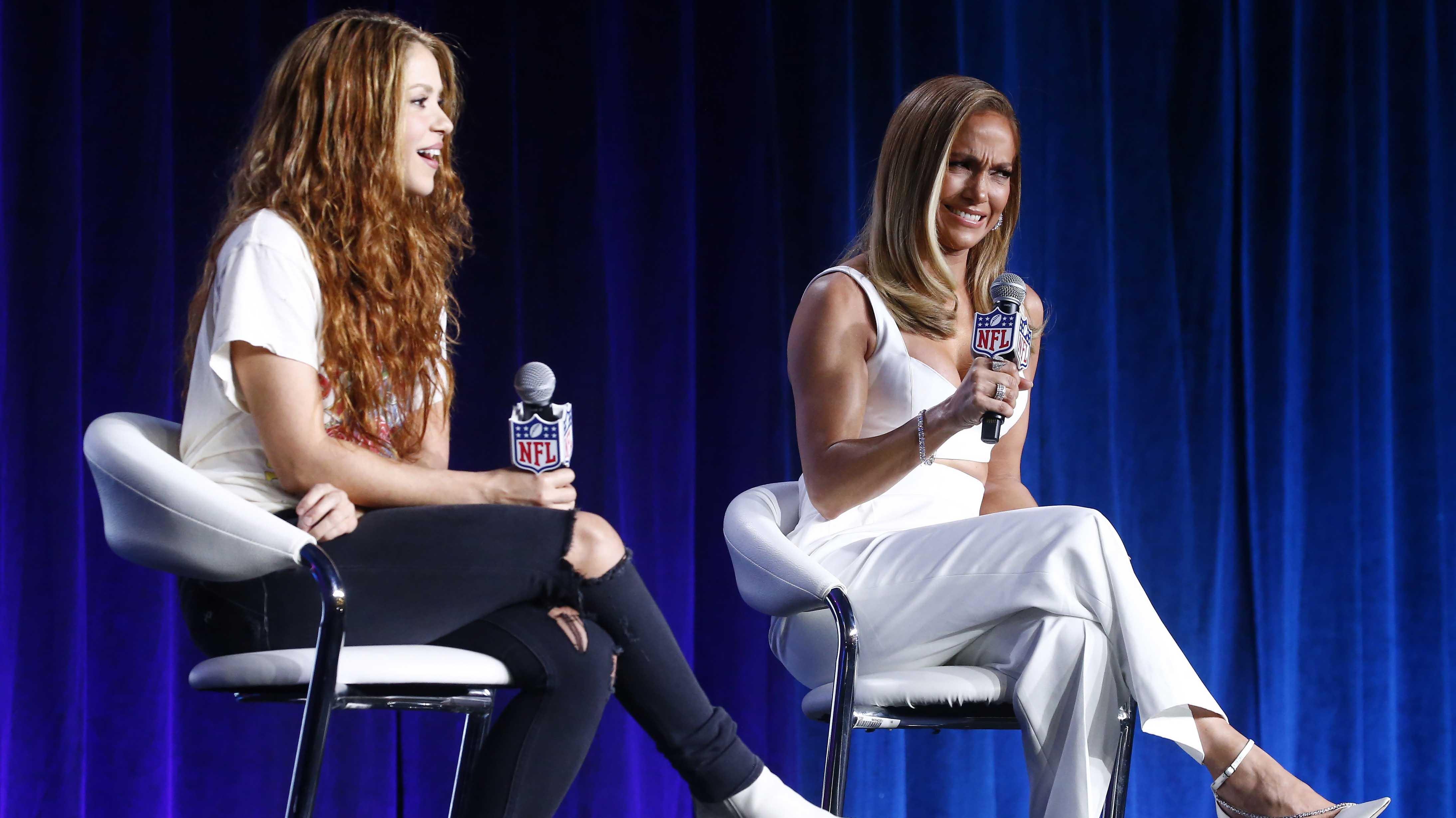 """Super Bowl: Presentación de JLo y Shakira buscará """"homenajear a los latinos y su cultura"""""""