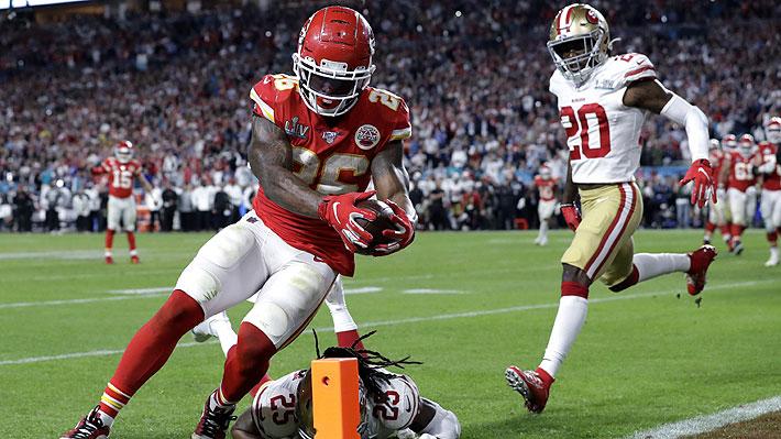 Video: Los tres touchdowns de la espectacular remontada de Kansas City Chiefs