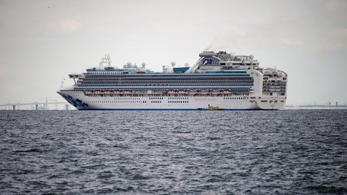 Japón impone cuarentena por presunto coronavirus a más de 3.700 personas a bordo de un crucero