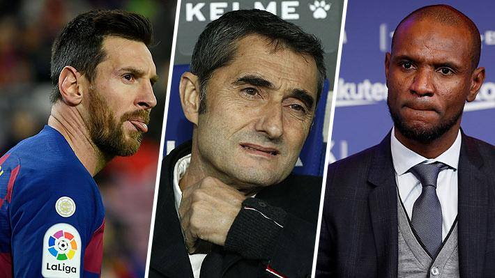 Director deportivo deja ver que el despido de Valverde también pasó por un problema de camarín y Messi responde con todo