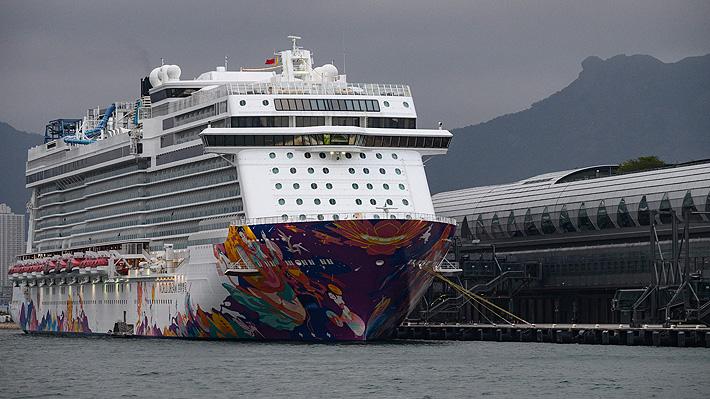 Otro crucero en cuarentena por coronavirus: Hong Kong aísla a 3.600 personas